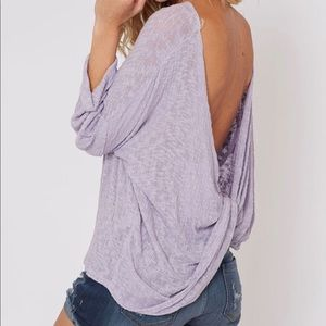 Lilac soft and light long sleeve